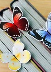 Закладка в книгу Butterfly