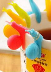 Тримач для чайних пакетиків Равлик (різні кольори)