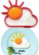 Форма для яєчні Сонце з Хмаринкою (для кухні)