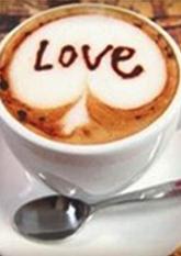 Трафарети для кави, лате, капучино №1 (комплект 16шт.)