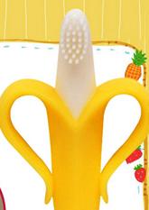 Дитяча зубна щіточка - прорізувач Банан (для малюків)