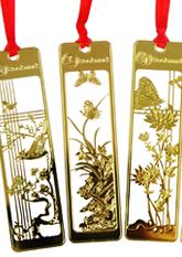 Закладки для книжок металеві Chinese Style (в асортименті)