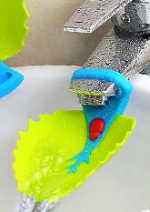 Насадка - подовжувач на водопровідний кран для дітей ЛИСТОЧОК