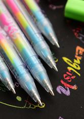 Гелева ручка №1 РАЙДУГА (6в1)
